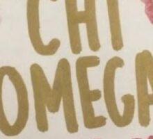 Chi Omega Sticker Sticker