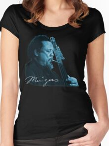 Charles Mingus T-Shirt Women's Fitted Scoop T-Shirt