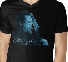 Charles Mingus T-Shirt Mens V-Neck T-Shirt