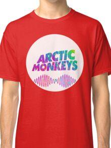 Arctic Monkeys - Logo (Psychedelic / White)  Classic T-Shirt