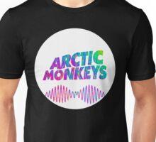 Arctic Monkeys - Logo (Psychedelic / White)  Unisex T-Shirt