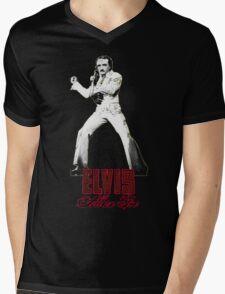 Elvis Allan Poe Jumpsuit Mens V-Neck T-Shirt