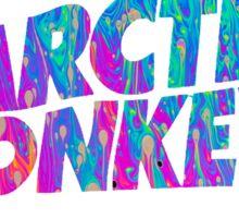 Arctic Monkeys - Logo (Psychedelic / White)  Sticker