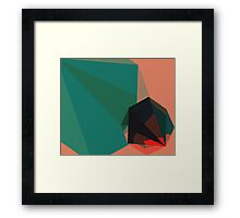 Shape Play 1 Framed Print