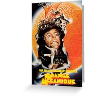 A Clockwork Orange French Poster Greeting Card