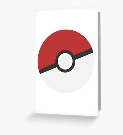 Pokéball Greeting Card