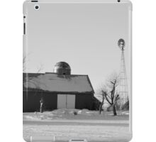 Black And White Winter iPad Case/Skin