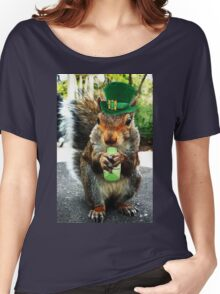 drunk squirrel Women's Relaxed Fit T-Shirt