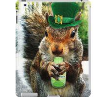 drunk squirrel iPad Case/Skin