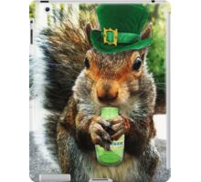 drunk squirrel iPad Case/Skin