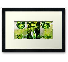 money Framed Print