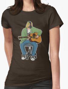 Kurt CoBane Womens Fitted T-Shirt