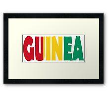 Guinea Framed Print