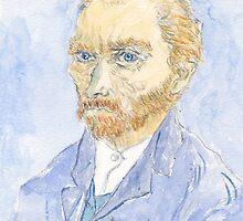 Vincent Van Gogh by Ercan  Sert