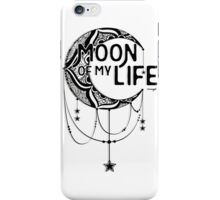 Moon: Ink iPhone Case/Skin