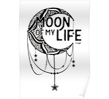 Moon: Ink Poster