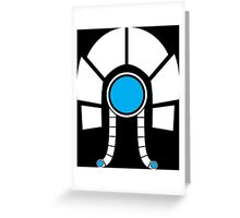 Mass Effect - Legion (White) Greeting Card