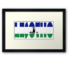 Lesotho Framed Print