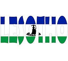 Lesotho Photographic Print