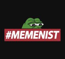 Memenist Meme Meninist Feminist Parody by Dumb Shirts
