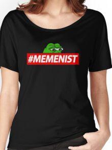 Memenist Meme Meninist Feminist Parody Women's Relaxed Fit T-Shirt