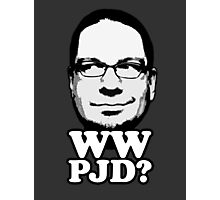 What Would Penn Jillette Do? (blk) Photographic Print