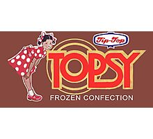 Kiwi Confectionery - Topsy (ice cream) Photographic Print