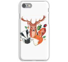 British Wildlife  iPhone Case/Skin