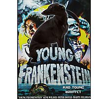 Whippet Art - Young Frankenstein Movie Poster Photographic Print