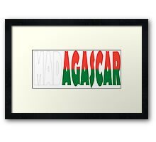 Madagascar Framed Print