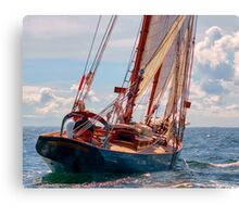 Outbound On The Adventurer Canvas Print