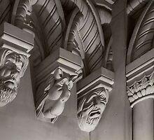 Penrhyn castle-Three heads by jasminewang