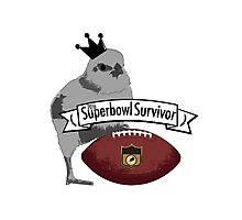 Superbowl survivor Photographic Print