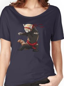 Red Panda FIGHT Women's Relaxed Fit T-Shirt