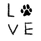Love Pawprint by rmcbuckeye