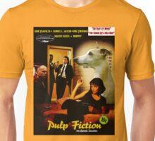 Whippet Art - Pulp Fiction Movie Poster Unisex T-Shirt