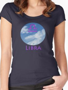 Libra Women's Fitted Scoop T-Shirt
