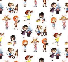 Cute children by IzvergN