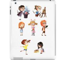 Cute children iPad Case/Skin