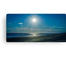 Sunny Seaside Canvas Print