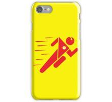 Flash Superhero Running iPhone Case/Skin