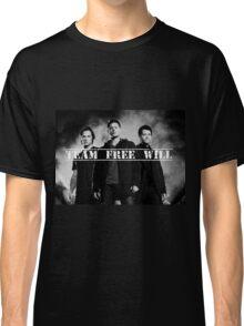 Supernatural 'Team Free Will' Print Classic T-Shirt
