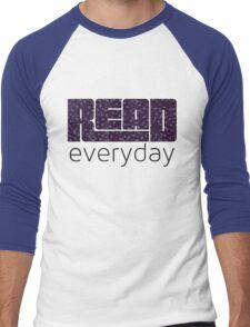 Read Everyday Men's Baseball ¾ T-Shirt