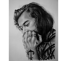 Harry Styles Photographic Print