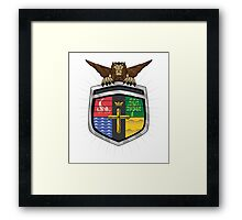 Voltron Coat of Arms Framed Print