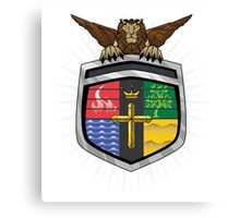 Voltron Coat of Arms Canvas Print