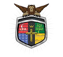 Voltron Coat of Arms Photographic Print
