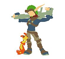 Jak and Dexter - Minimalist Photographic Print