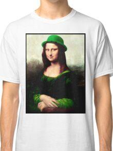 Lucky Mona Lisa - St Patrick's Day Classic T-Shirt