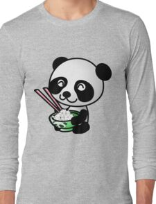 """Panda"" Long Sleeve T-Shirt"
